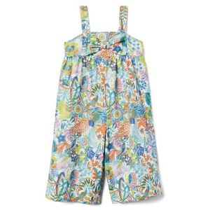 Janie and Jack Liberty Tropical Trails Jumpsuit